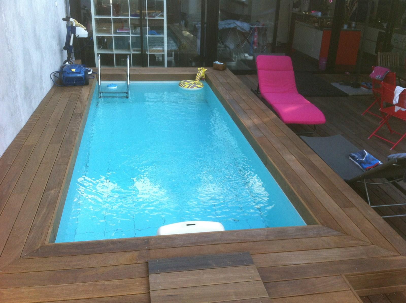 Tour de piscine en bois exotique ipe marseille les terrasses du bois - Tour de piscine en bois ...