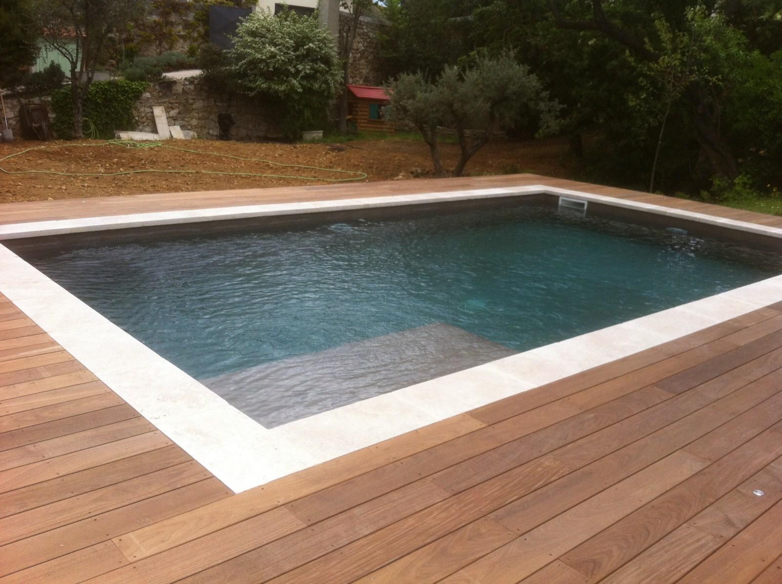 Ou Acheter Bois Ipe agencement d'un tour de piscine en bois exotique ipe - les