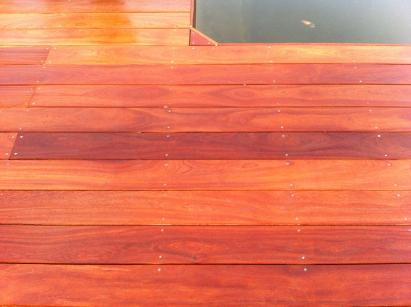 Vis inox a2 pour terrasse et tour de piscine en bois exotique les terrasses du bois - Tour de piscine en bois ...